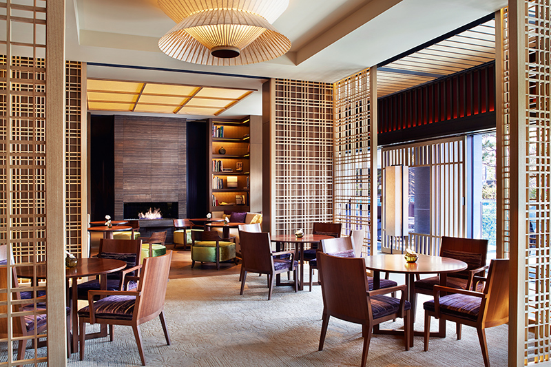 The Lobby Lounge at The Ritz-Carlton, Kyoto