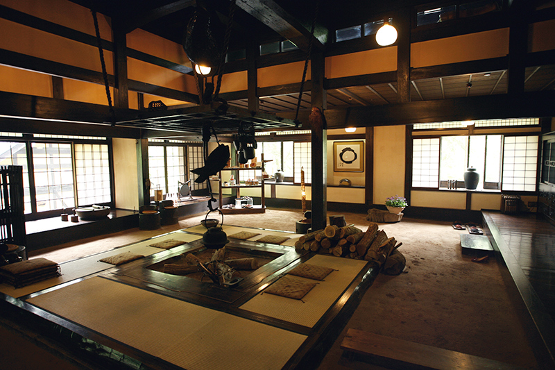 Main lounge at Wanosato - Photo by The Ryokan Collection