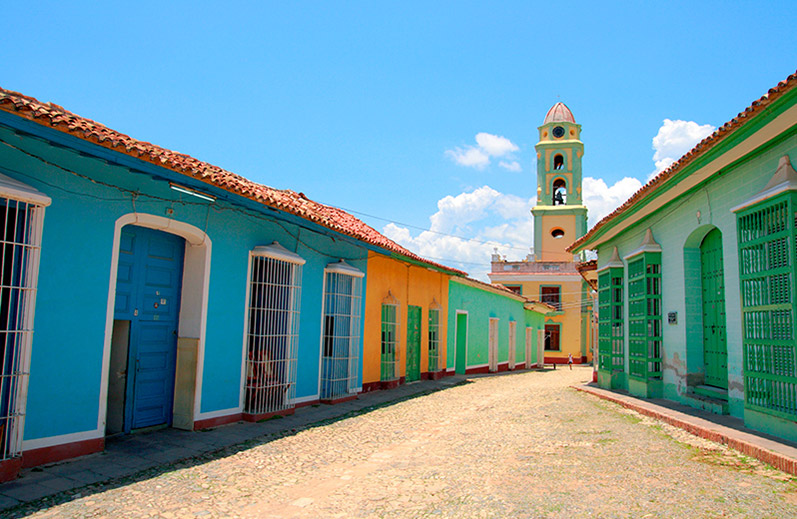 Spanish colonial architecture in Trinidad