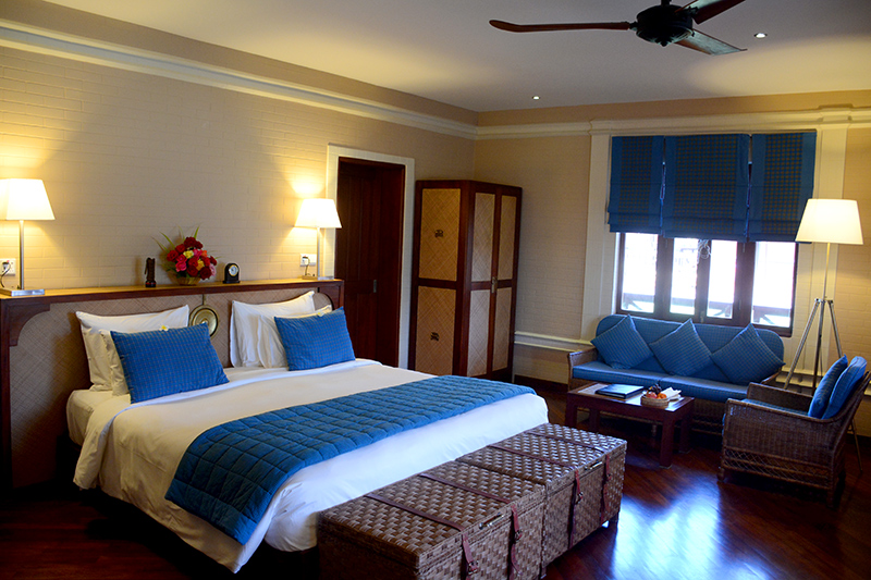 Our Villa Room at Bagan Lodge - Photo by Hideaway Report editor