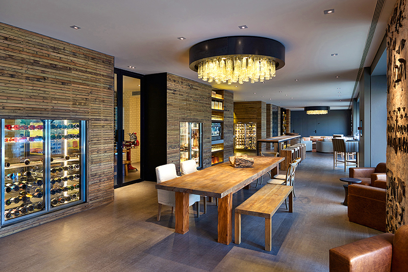 The Wine Library at Six Senses Douro Valley