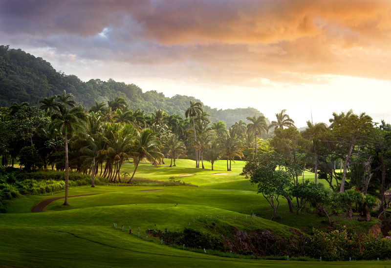 The Playa Grande Golf Course, designed by Robert Trent Jones, integrated with Amanera - Courtesy of Amanresorts