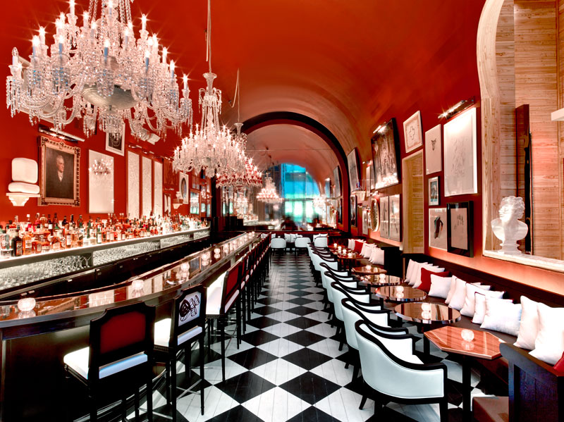 Bar at the Baccarat Hotel - © Eric Laignel