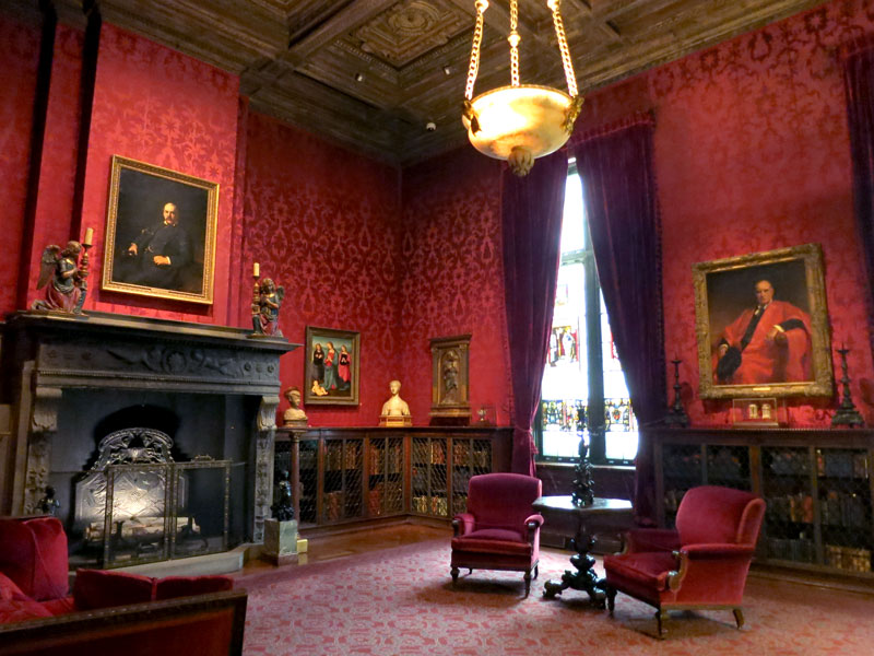 Pierpont Morgan's study at The Morgan Library & Museum - Photo by Hideaway Report editor