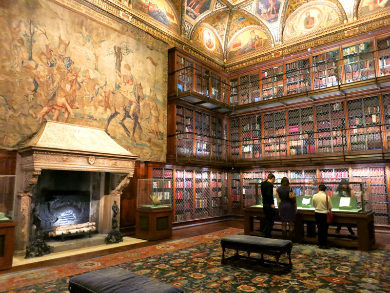 Morgan's library at The Morgan Library & Museum - Photo by Hideaway Report editor