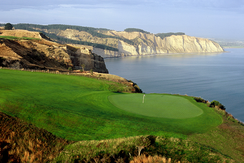 Hole 15 at Cape Kidnappers