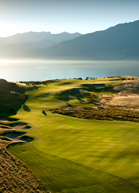 Hole 5 at Jack's Point, Queenstown