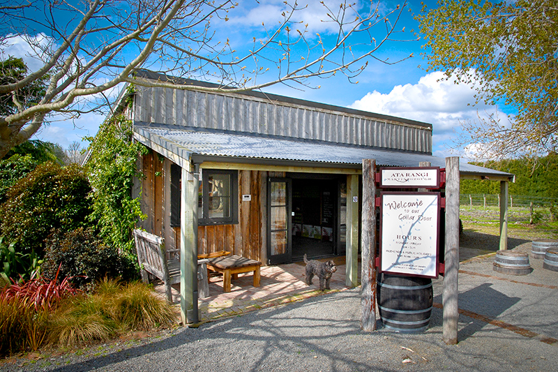 Cellar door at Ata Rangi in Martinborough, North Island - © Pete Monk