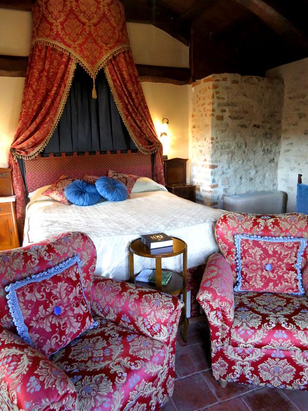 Our Junior Suite at Hotel Castello di Sinio