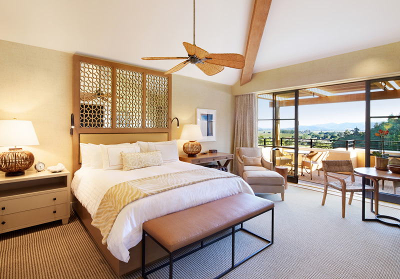 Suite view of Napa Valley at Auberge du Soleil