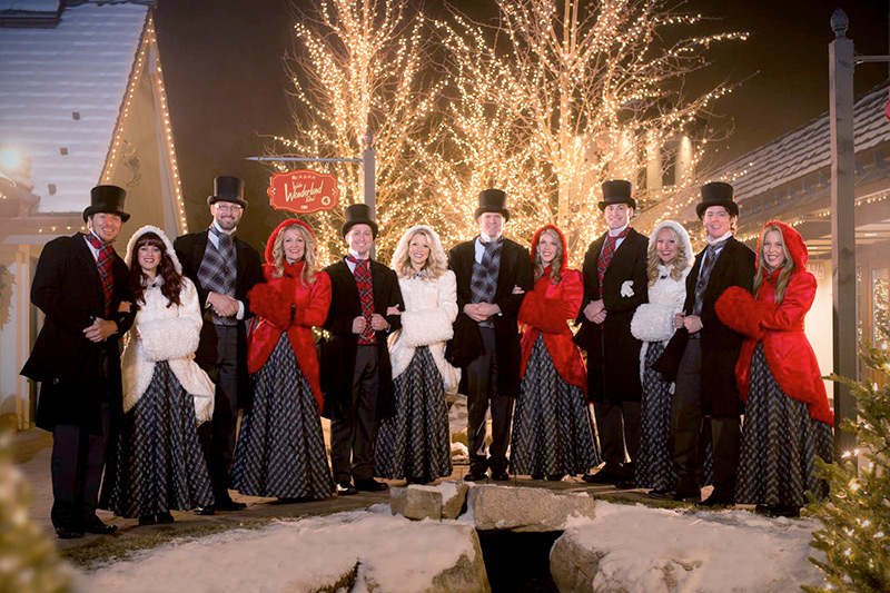 Sun Valley Carolers - Courtesy of Sun Valley Resort © Kevin Syms