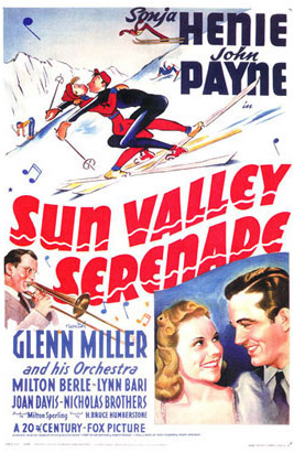 "Poster for the 1941 film ""Sun Valley Serenade"" - © Captain.ken/Wikipedia"