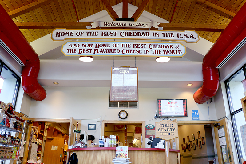 Cabot Visitors Center - © Cabot Creamery Cooperative