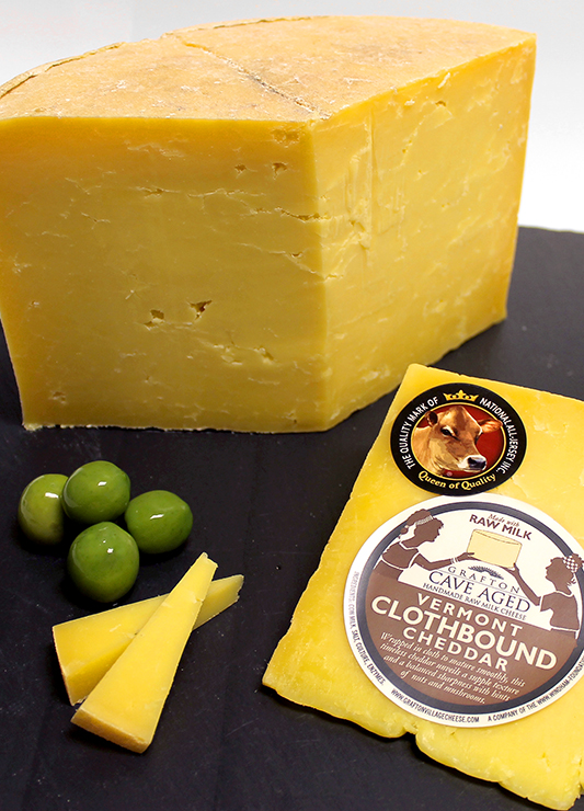 Queen of Quality Clothbound Cheddar cheese