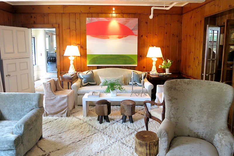 Main lounge at Edson Hill