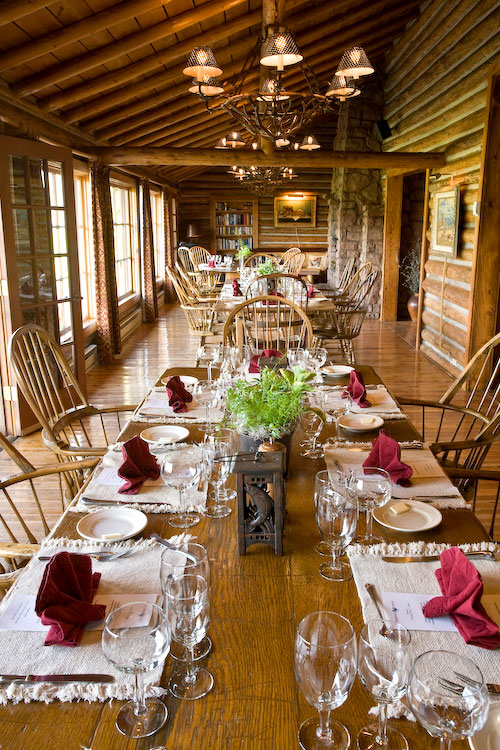 The Dining Room at Firehole Ranch