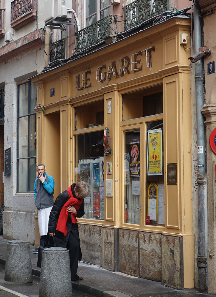 Le Garet in Lyon, France - Photo by Hideaway Report editor