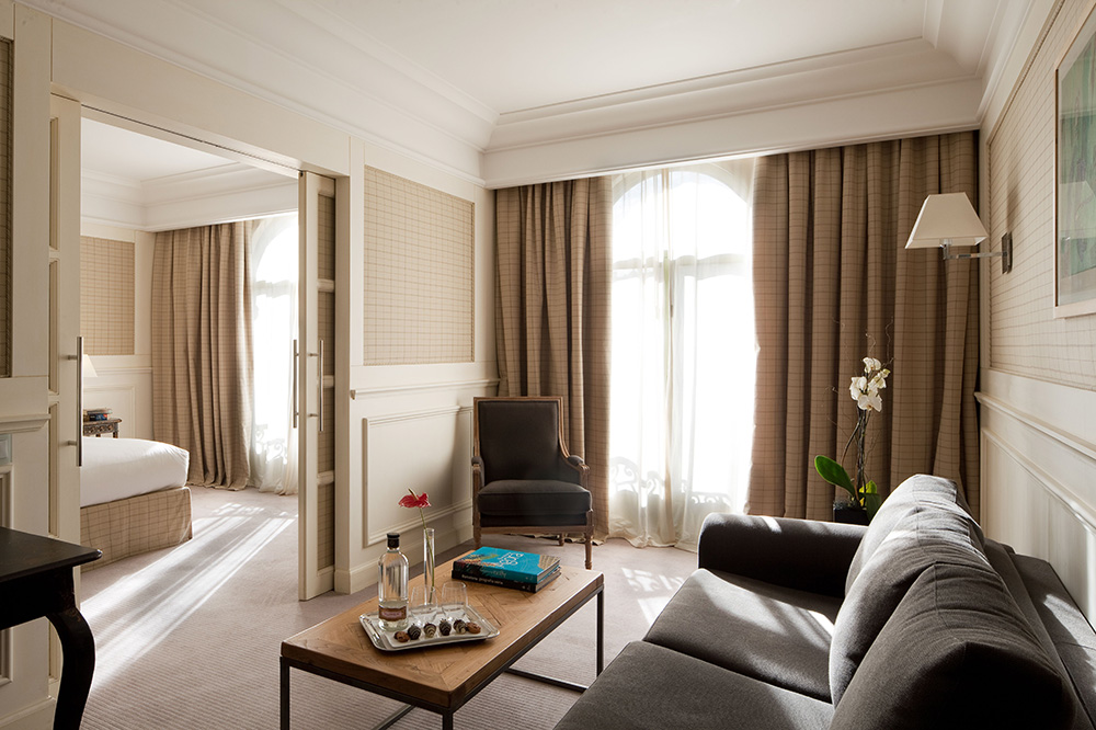A Junior Suite at the Majestic Hotel & Spa