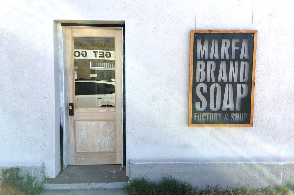 Marfa Brand Soap exterior