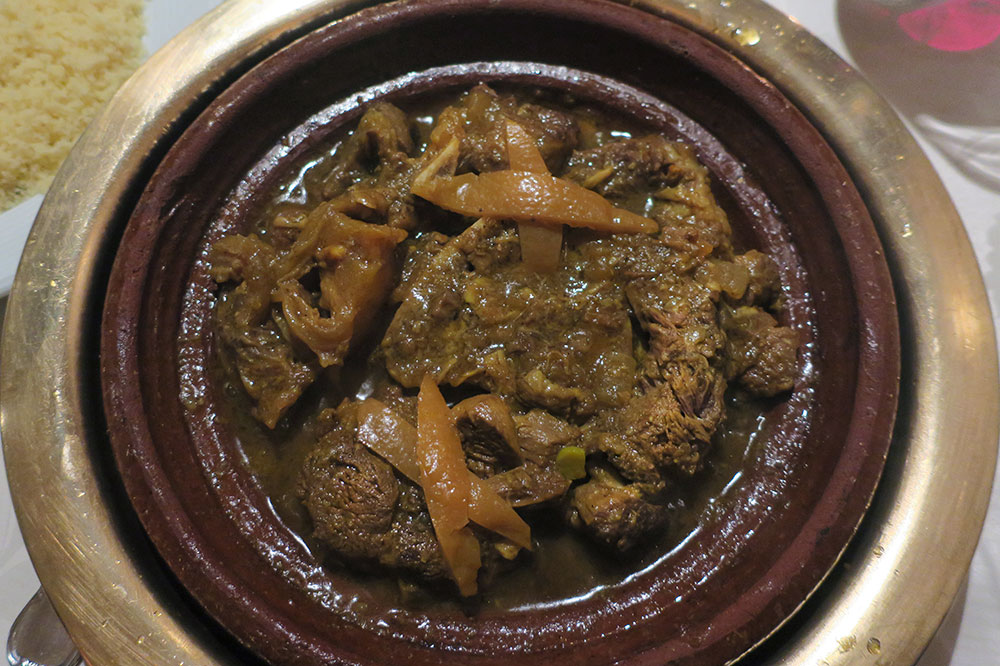 A beef tagine with preserved lemon from <em>Al Fassia</em>