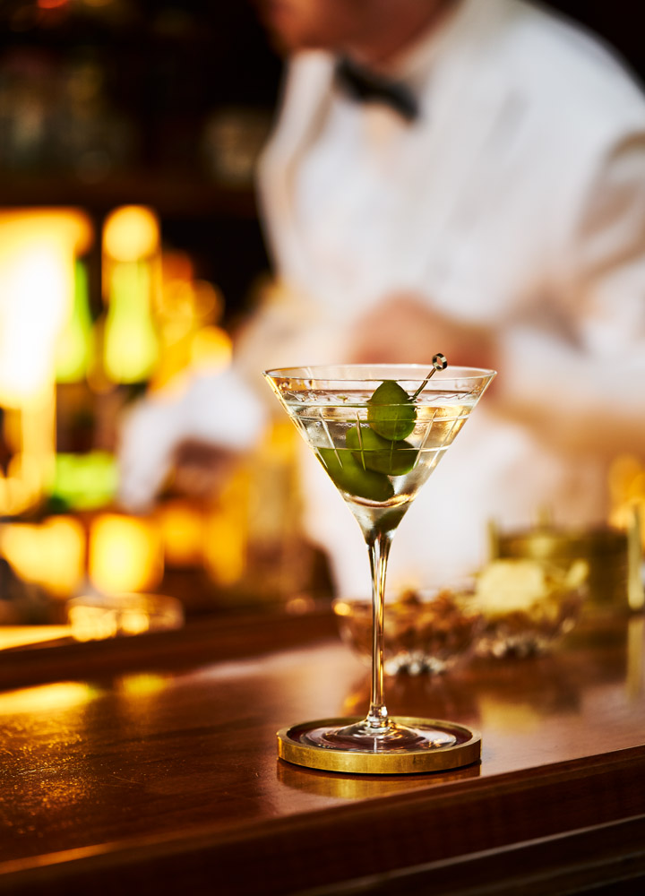 A martini at <em>THE GRILL</em> in New York City, New York - Adrian Gaut