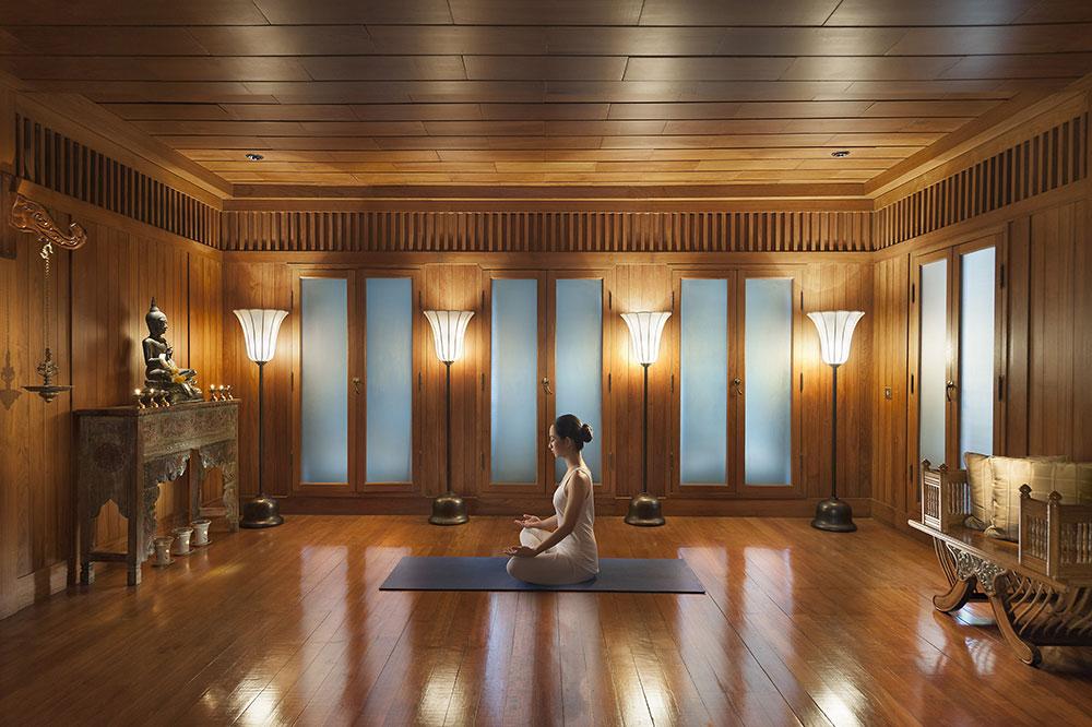 Yoga at the Oriental Spa at the Mandarin Oriental Bangkok