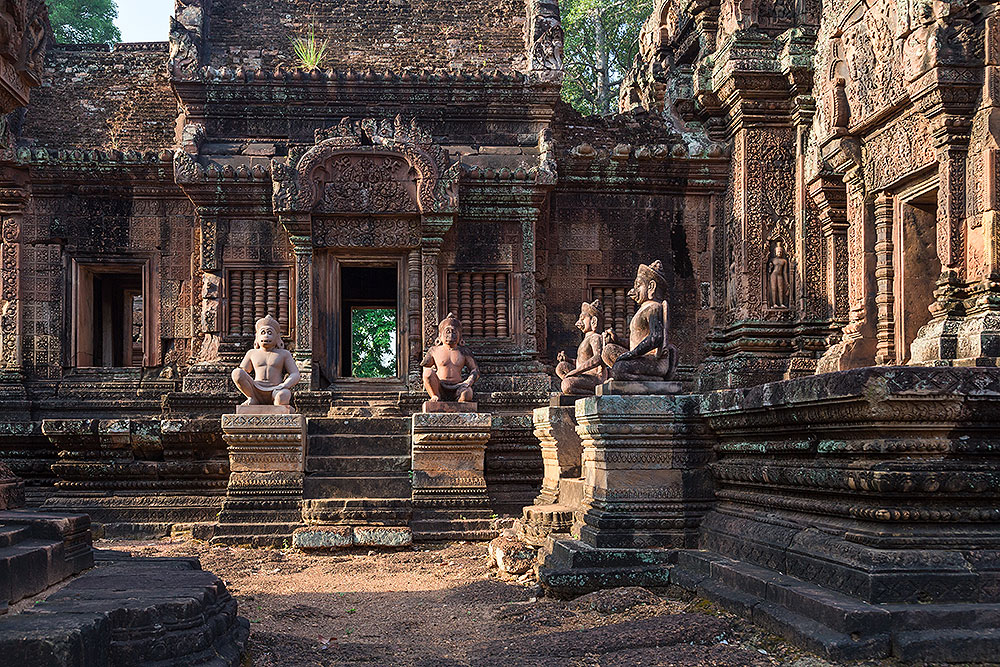 Banteay Srei, a 10th-century temple near Amansara