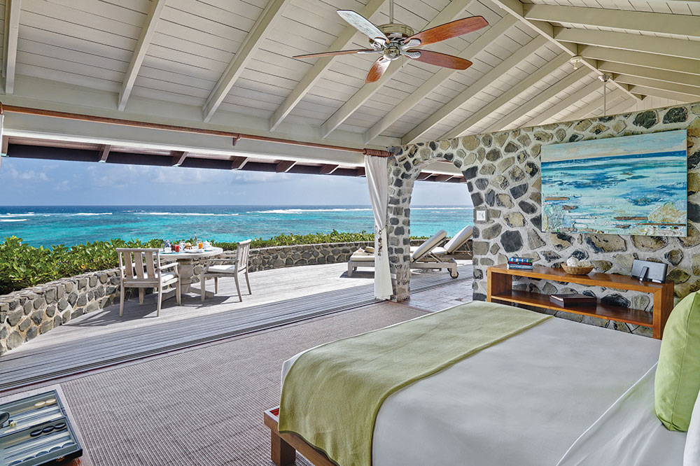 One Bedroom Cottage on the private island of Petit St. Vincent