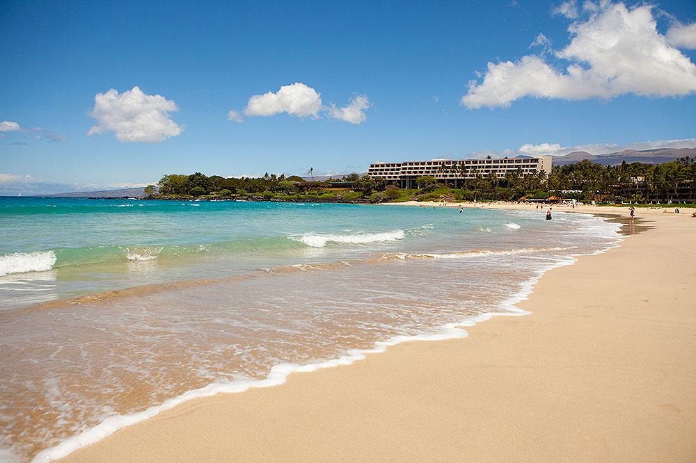 Mauna Kea Beach Hotel's pristine beach