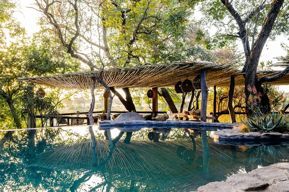 The pool at Singita Boulders Lodge