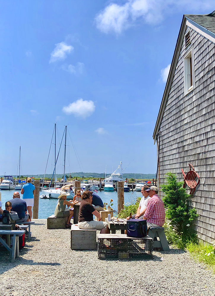 Menemsha Fish Market in Menemsha, Massachusetts - Hannah Loewentheil