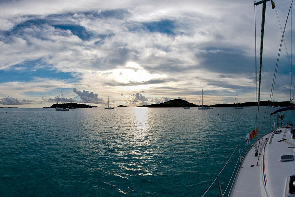 Tobago Cays archipelago in the Grenadines