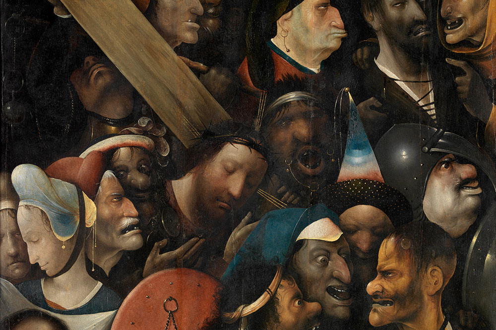 """Christ Carrying the Cross,"" by Hieronymus Bosch, from the Museum of Fine Arts Ghent"