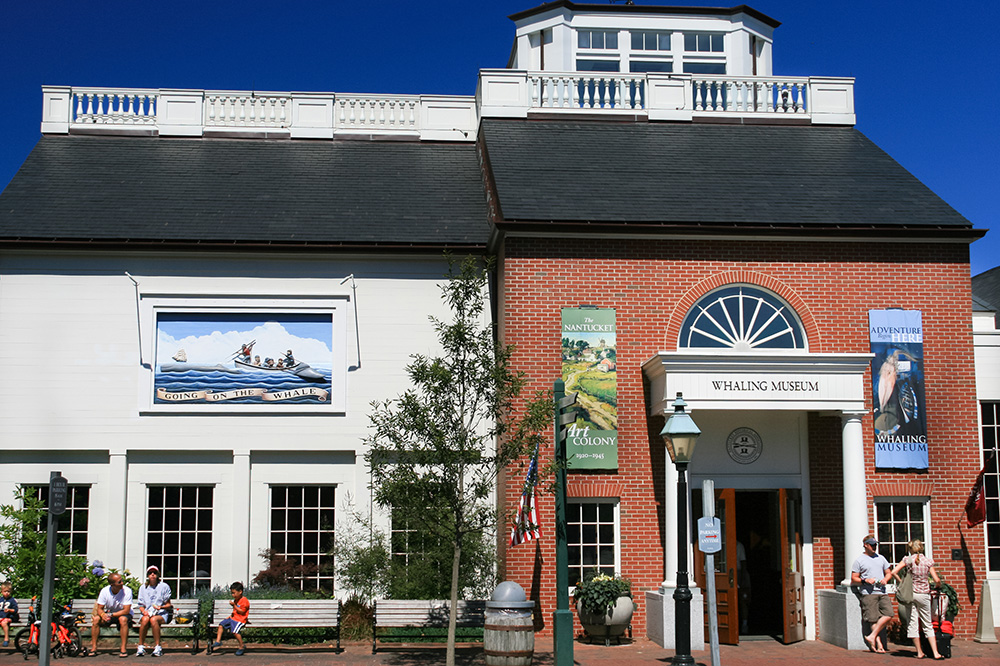 The exterior of the Nantucket Historical Association's Whaling Museum