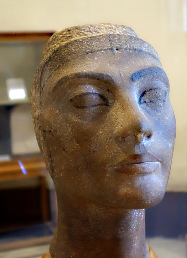 Nefertiti at the Egyptian Museum - Photo by Hideaway Report editor