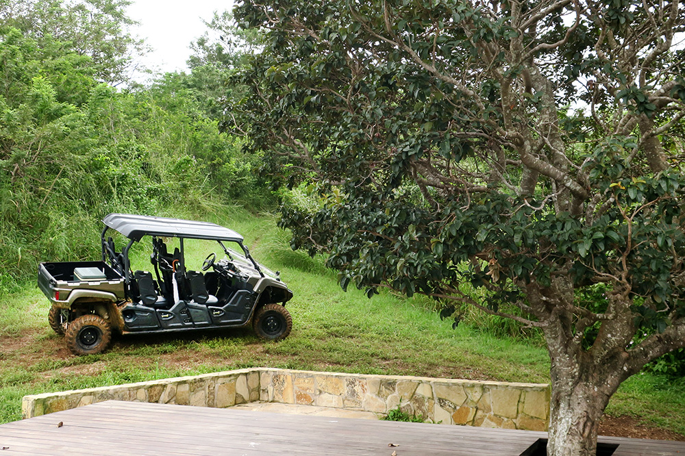 Our personal ATV at Nekupe