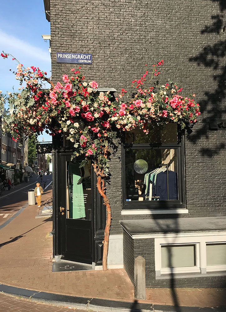 A storefront in the Nine Streets neighborhood in Amsterdam, Netherlands - Christina Valhouli
