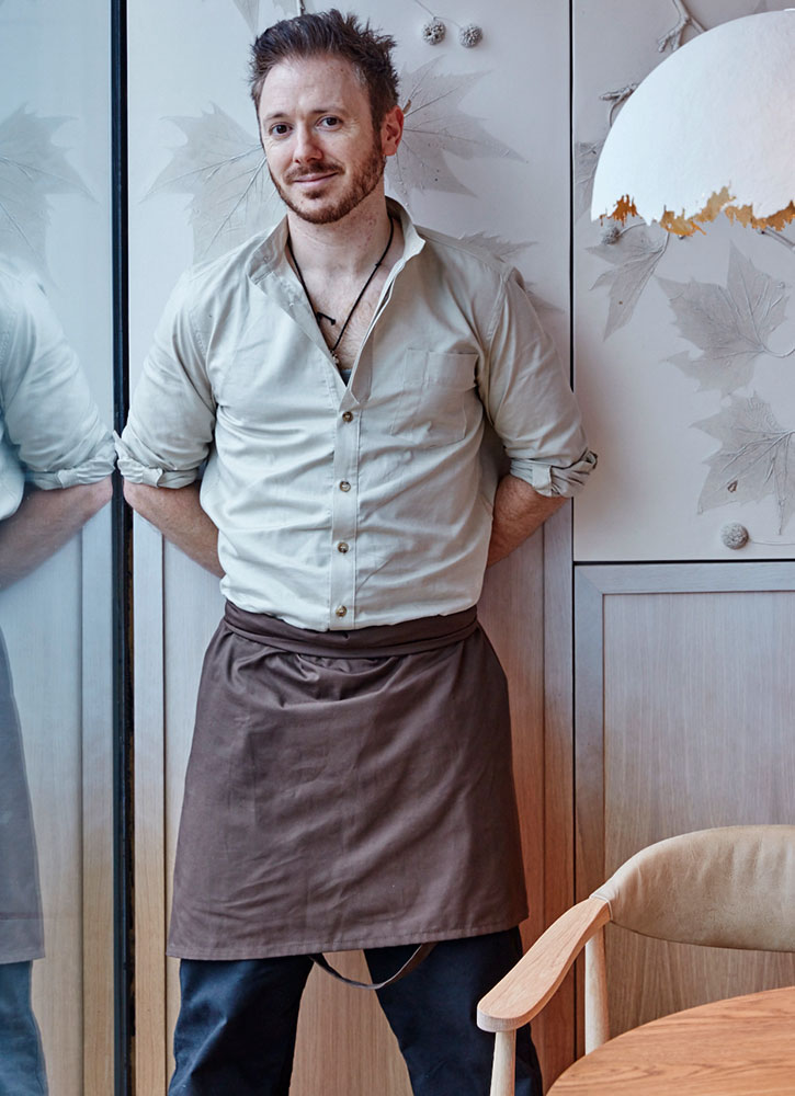 Chef Ollie Dabbous of Hide in London - Hide