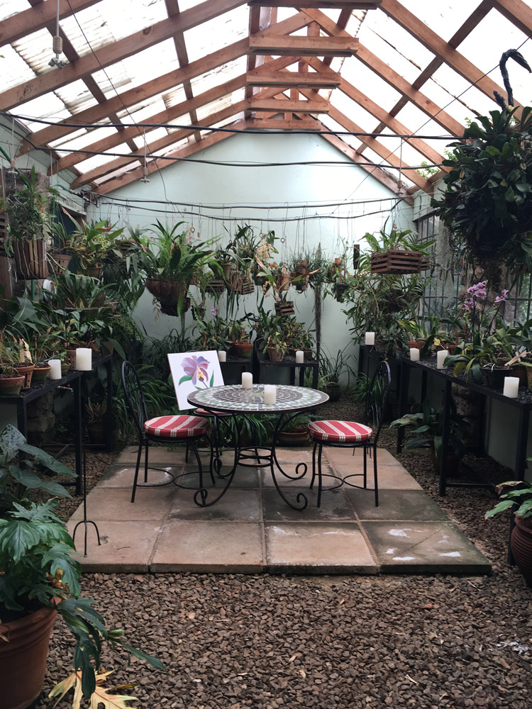 Orchid Room in the gardens of Giraffe Manor - Scott Dubois