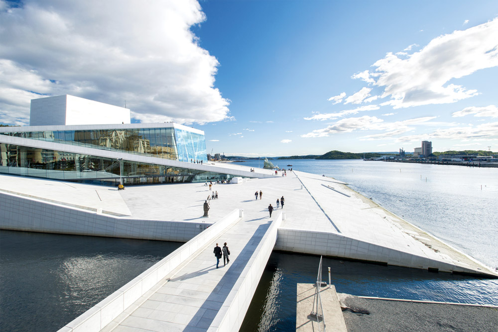 Oslo Opera House - Nanisimova/Getty Images