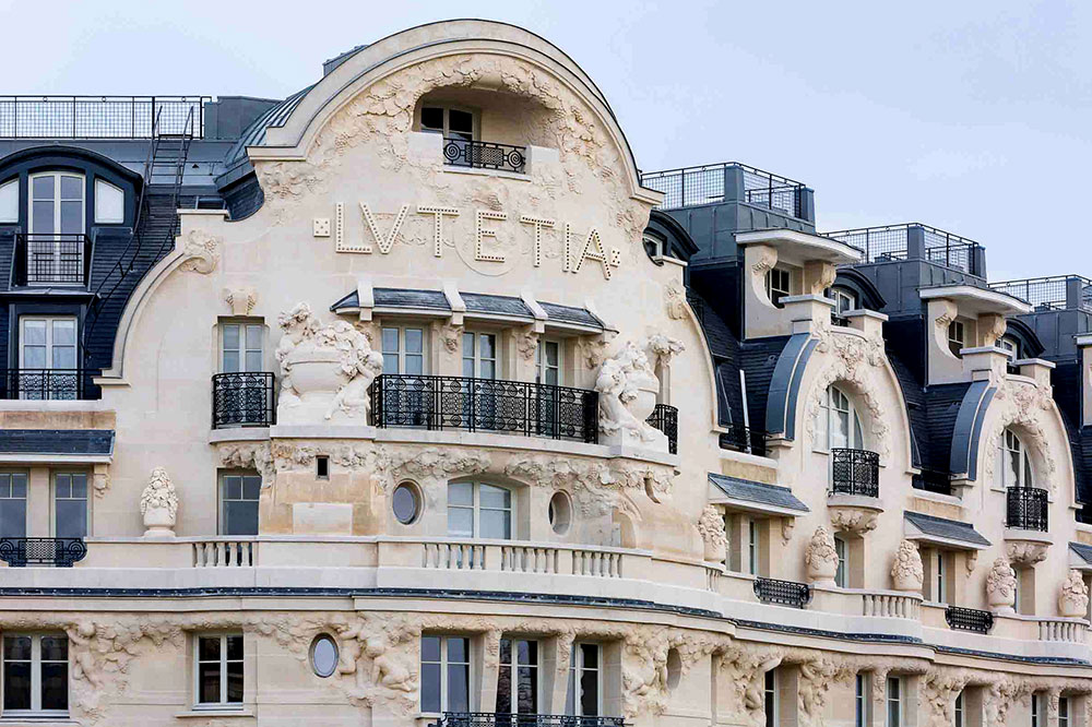 Each of the eight floors of the Hôtel Lutetia has a themed design