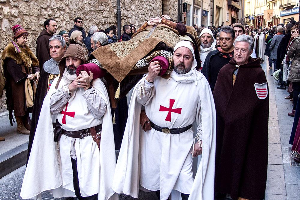 Participants in the Wedding of Isabel de Segura in Tereul, Aragon, Spain