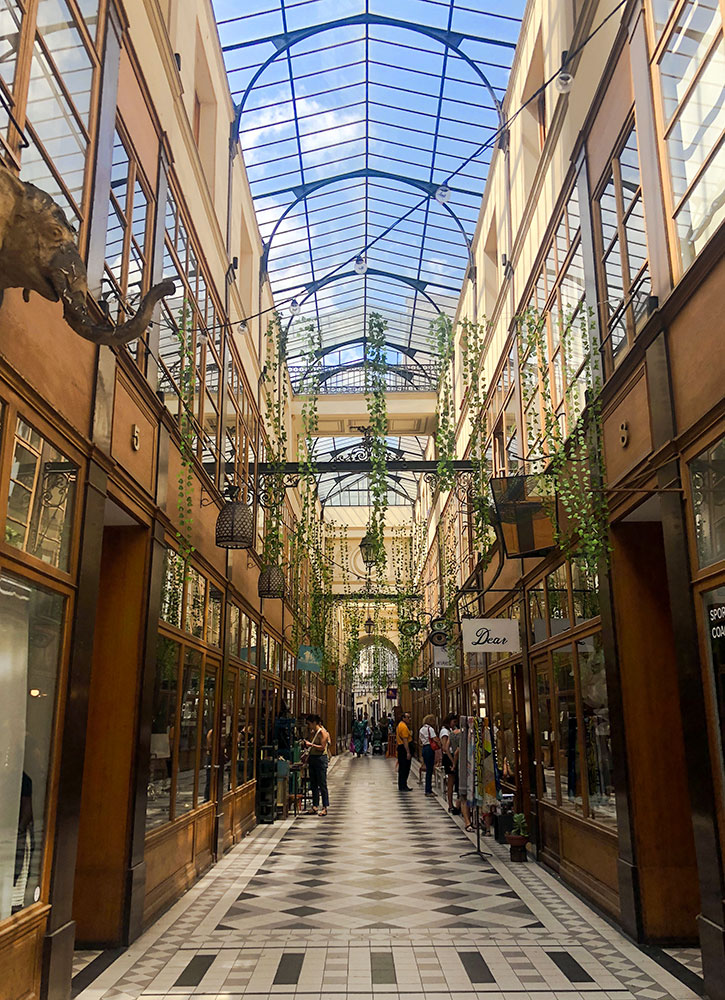 Passage du Grand Cerf, in Paris, France - Kaley Wheless