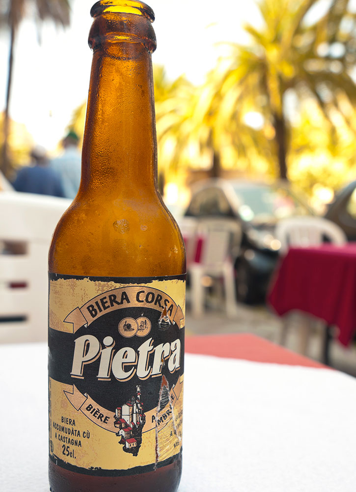 Pietra, a beer in Corsica, France - helovi/iStock/Getty Images