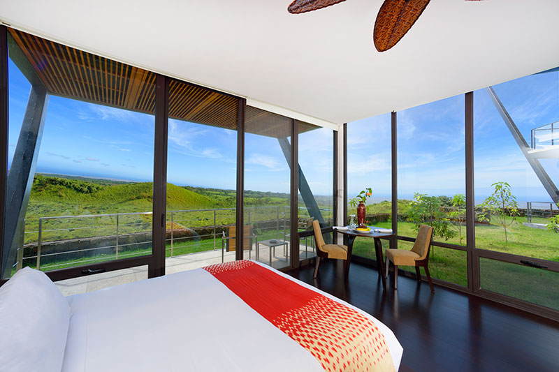 Terrace Room at Pikaia Lodge