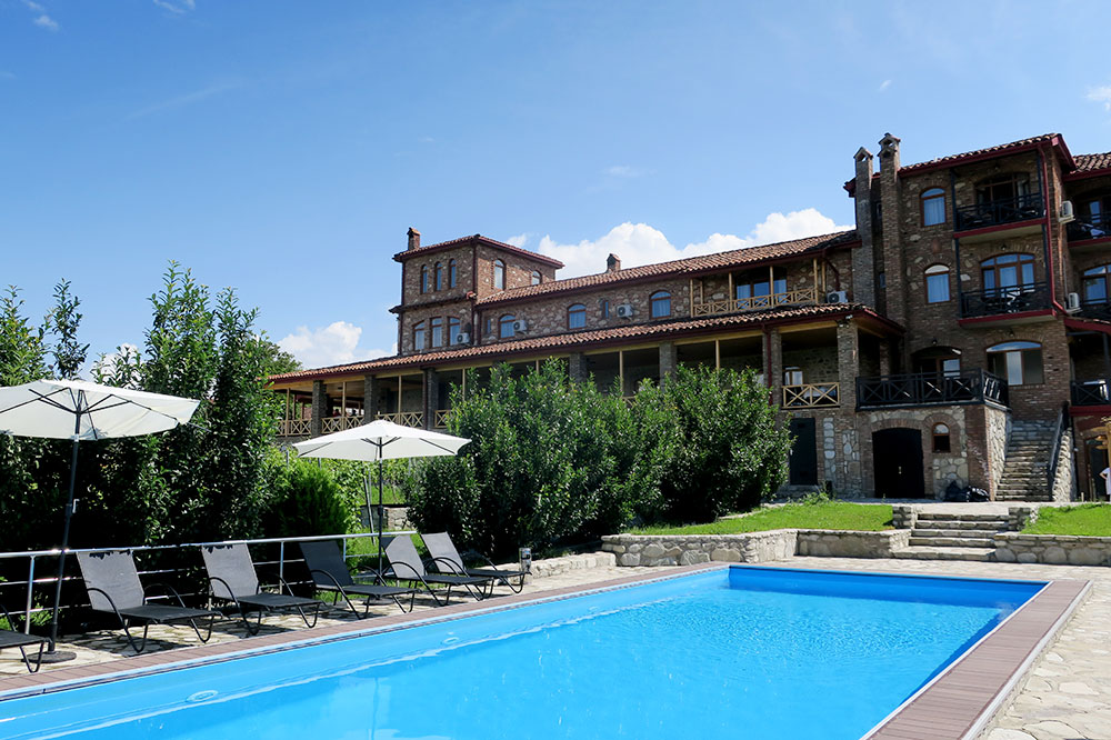 The pool at the Schuchmann Hotel
