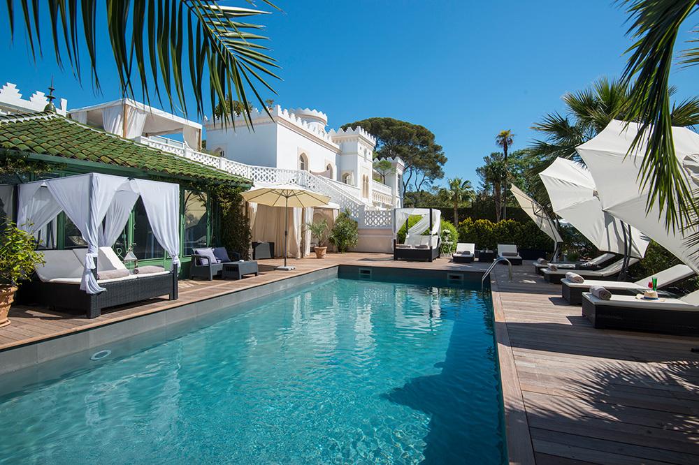 Pool at La Villa Mauresque