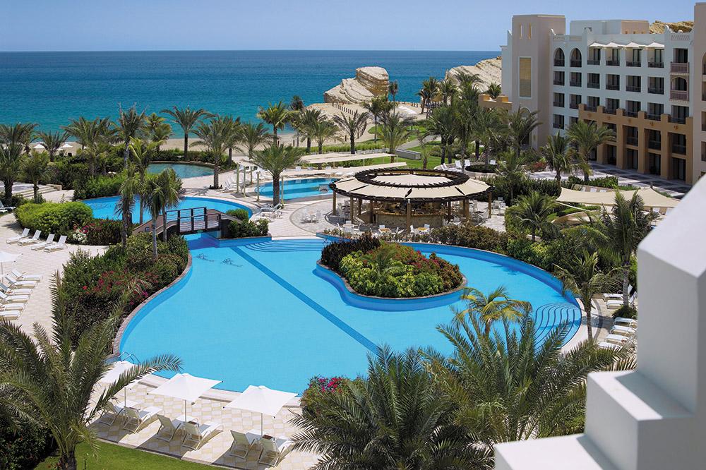 Al Waha pool, Shangri-La Barr Al Jissah Resort & Spa, Muscat, Oman