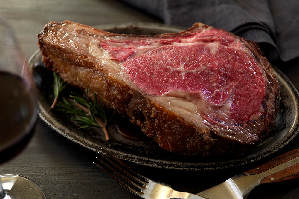 The prime rib from <em>Chicago Cut Steakhouse</em>