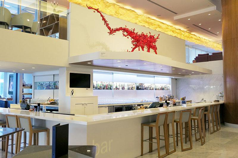 The RawBar restaurant at Fairmont Pacific Rim